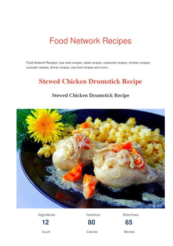 Chicken drumstick recipe food network recipes by food network food network recipes food network recipes low carb recipes salad recipes casserole recipes chicken recipes avocado recipes dinner recipes sea food forumfinder Gallery