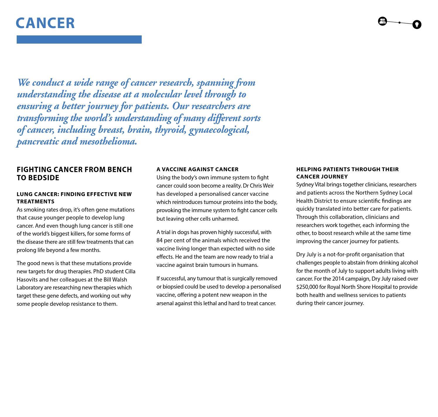 Cancer Vaccine Successful