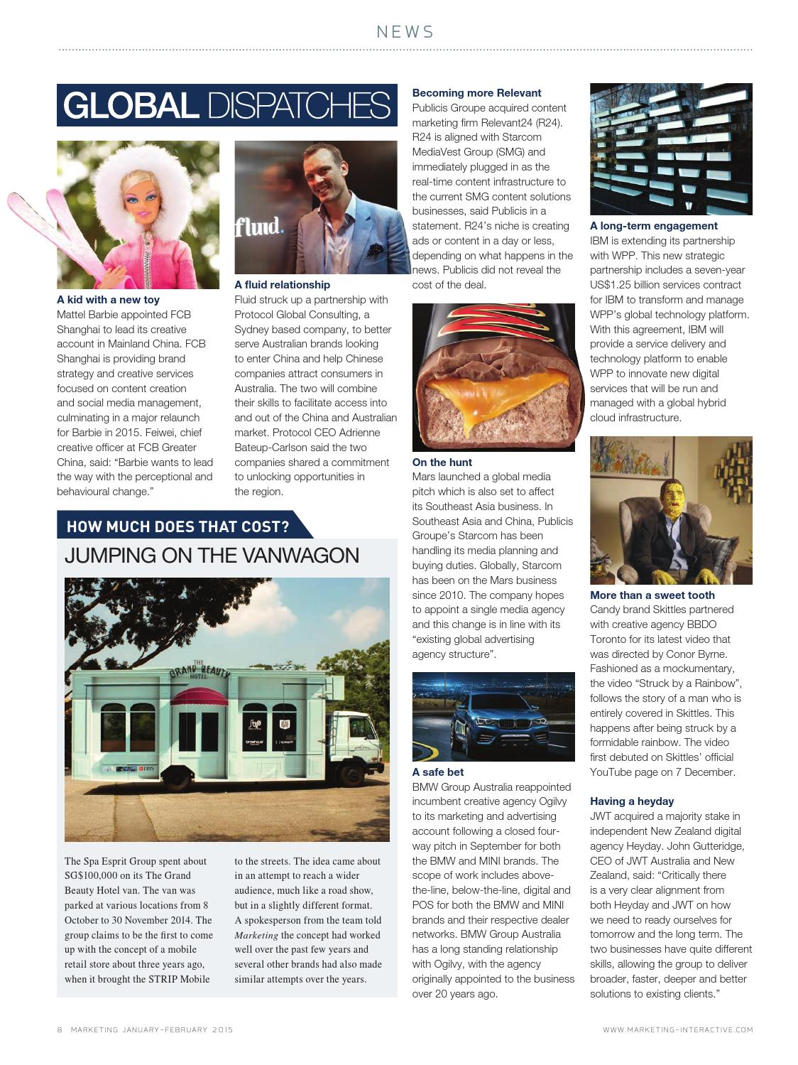Marketing Magazine SG - Jan / Feb 2015 by Marketing Magazine