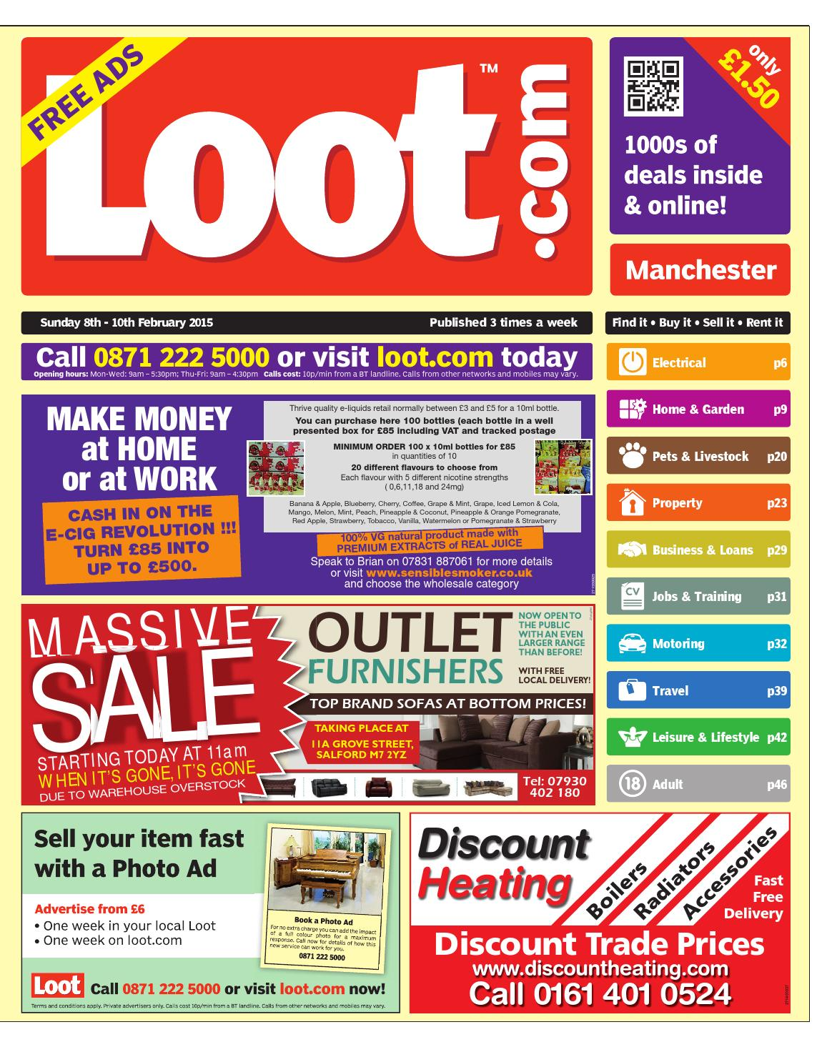the latest 65b90 c5b0a Loot Manchester 8th February 2015 by Loot - issuu