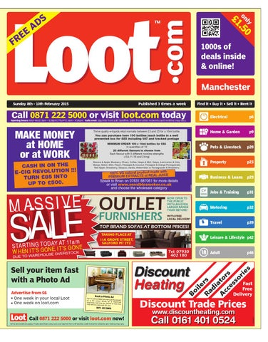 the latest df623 2edf1 Loot Manchester 8th February 2015 by Loot - issuu