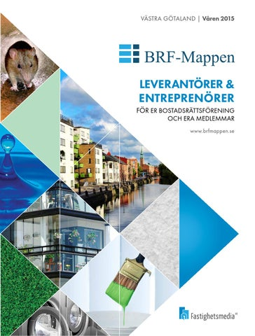 Leverantörer & Entreprenörer för er bostadsrättsförening och era medlemmar.