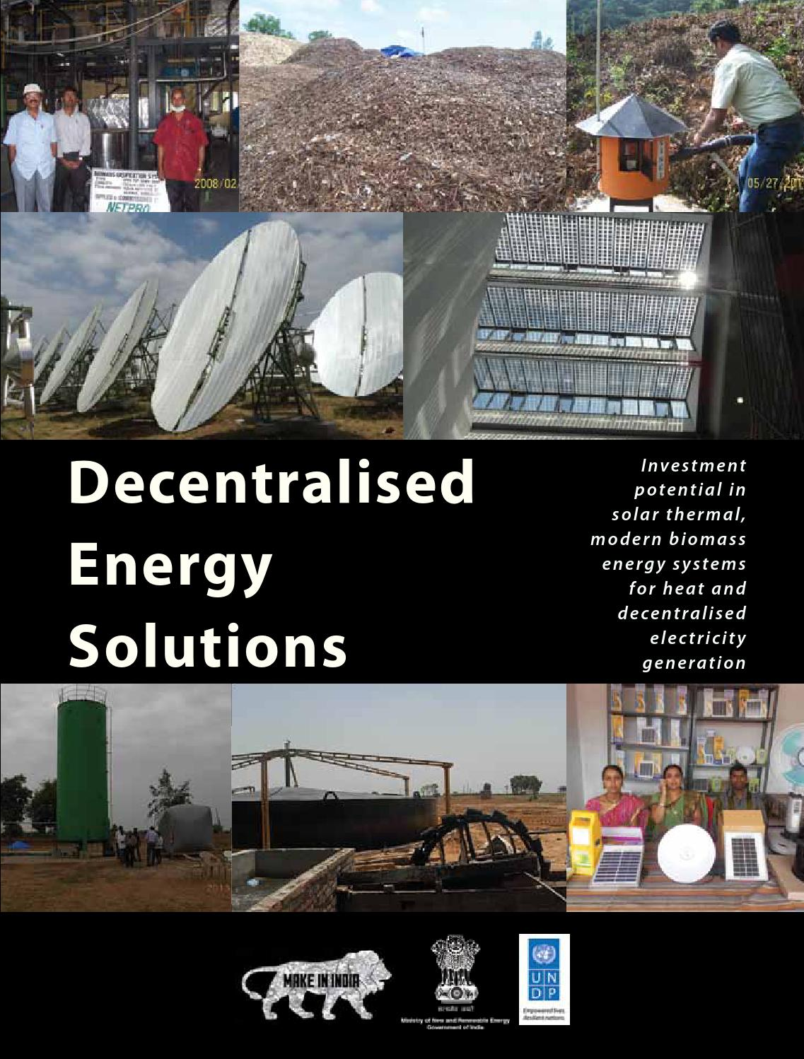 Decentralised Energy Solutions Investment Potential In