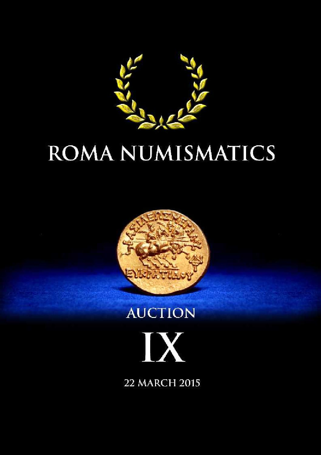 4c12d5eef72 Roma Numismatics Auction IX by Richard Beale - issuu