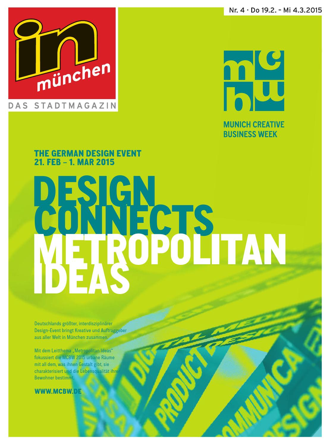 competitive price 2c7c6 f0781 in münchen Ausgabe 04 2015 by InMagazin Verlags GmbH - issuu