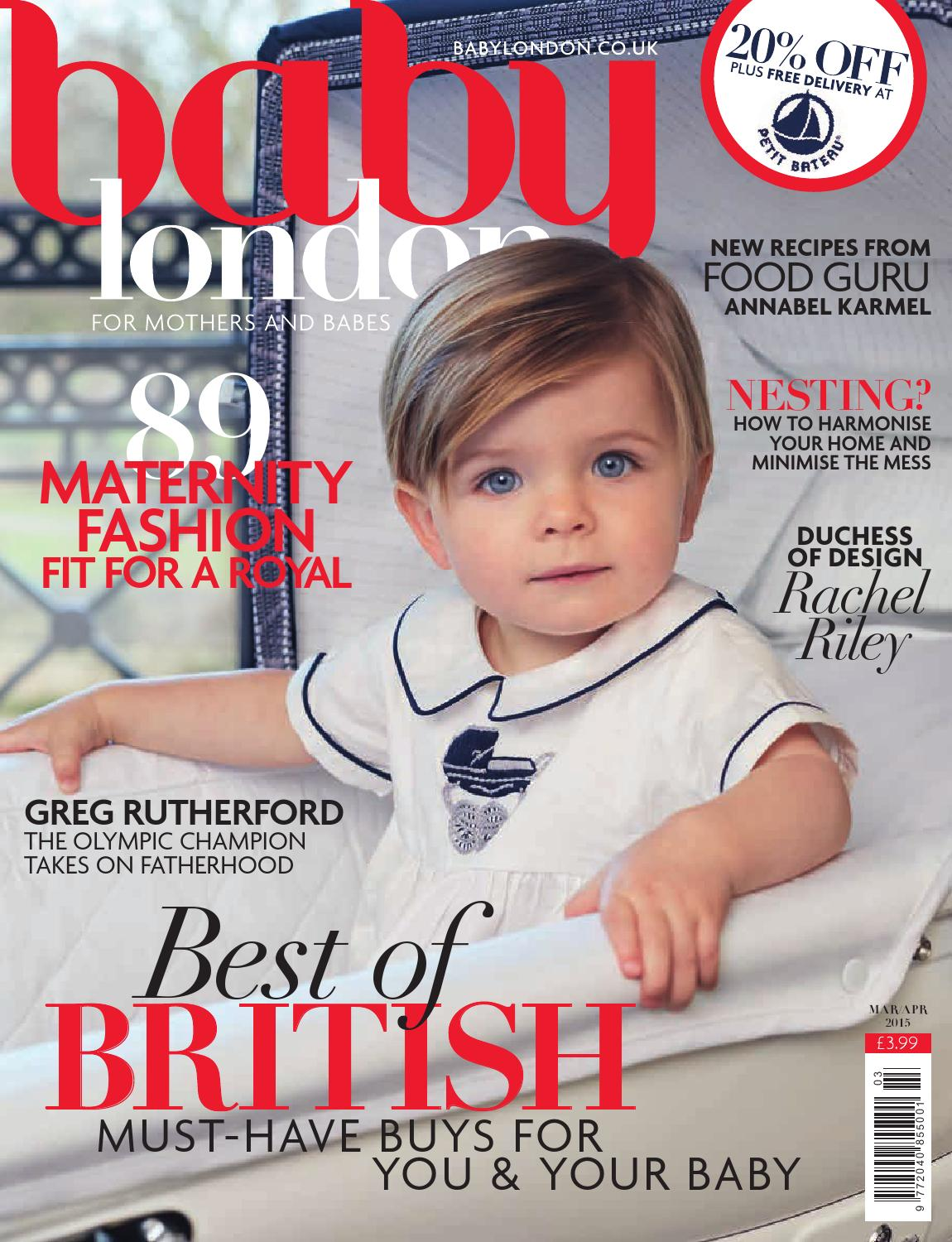 a39a7c803 Baby London March/April 2015 by The Chelsea Magazine Company - issuu