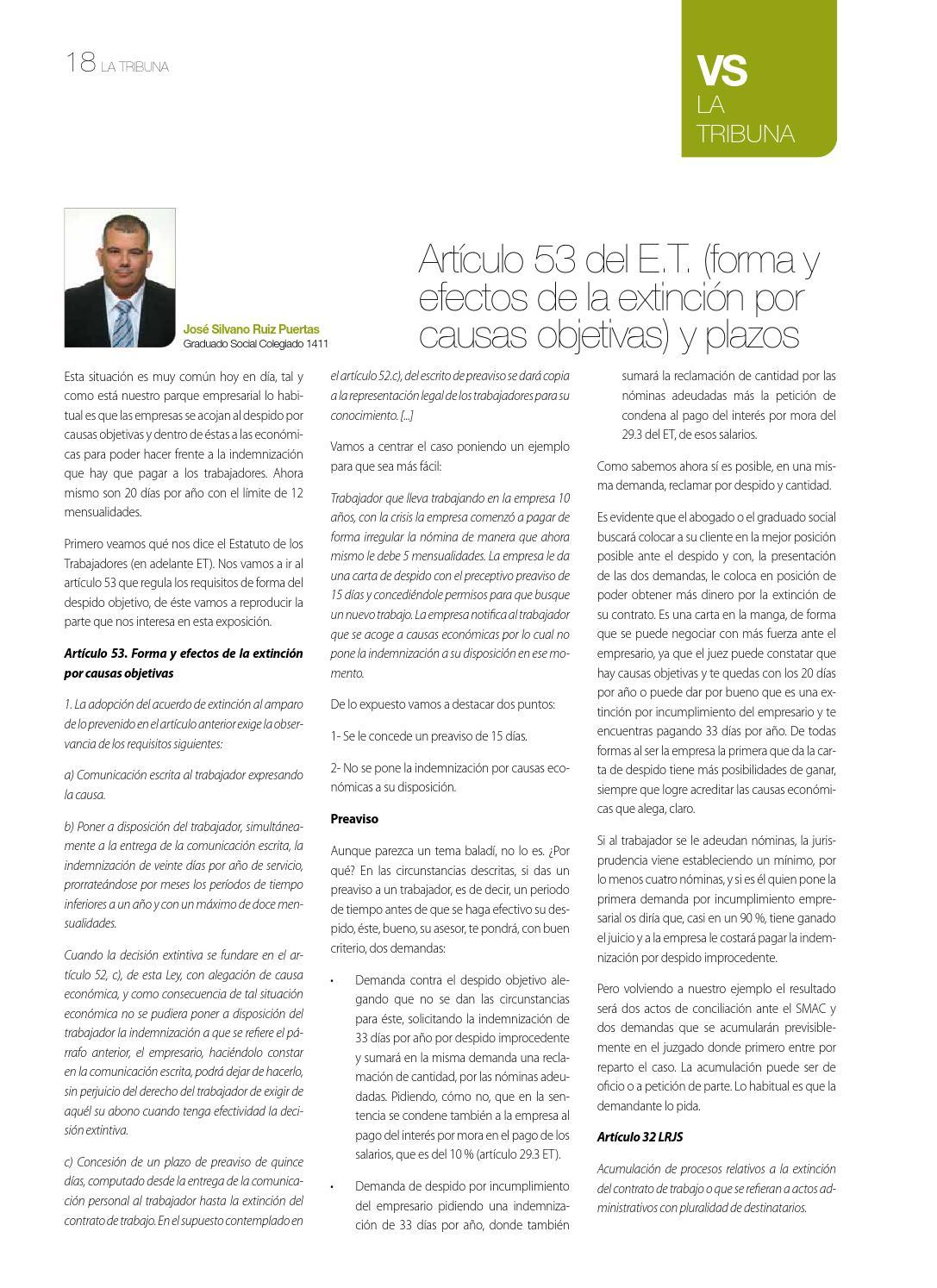 Ventana Social Nº 20 By Colegio De Graduados Sociales De La