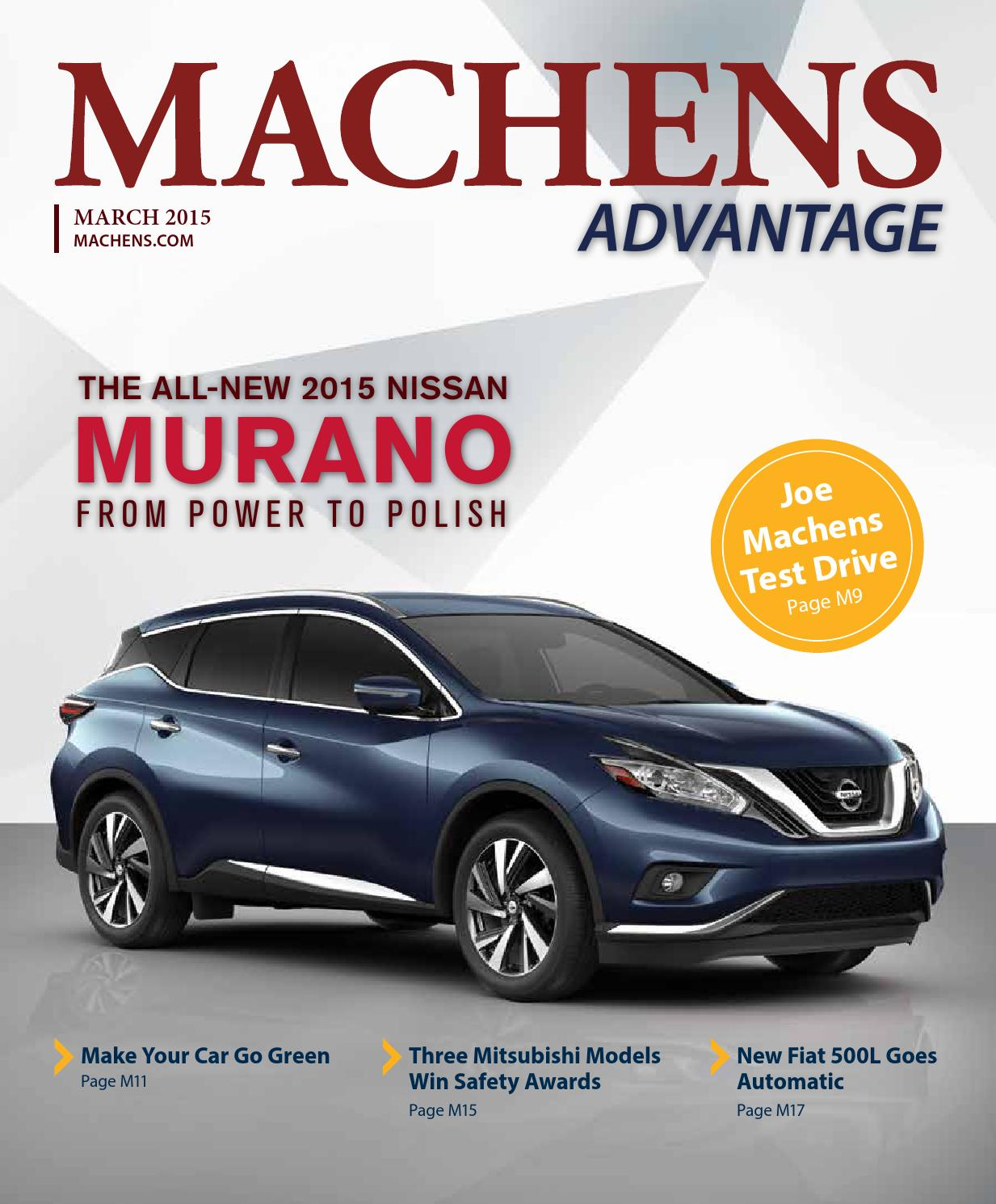 Car Dealerships In Columbia Mo >> March Machens Advantage magazine by Joe Machens Dealerships - Issuu