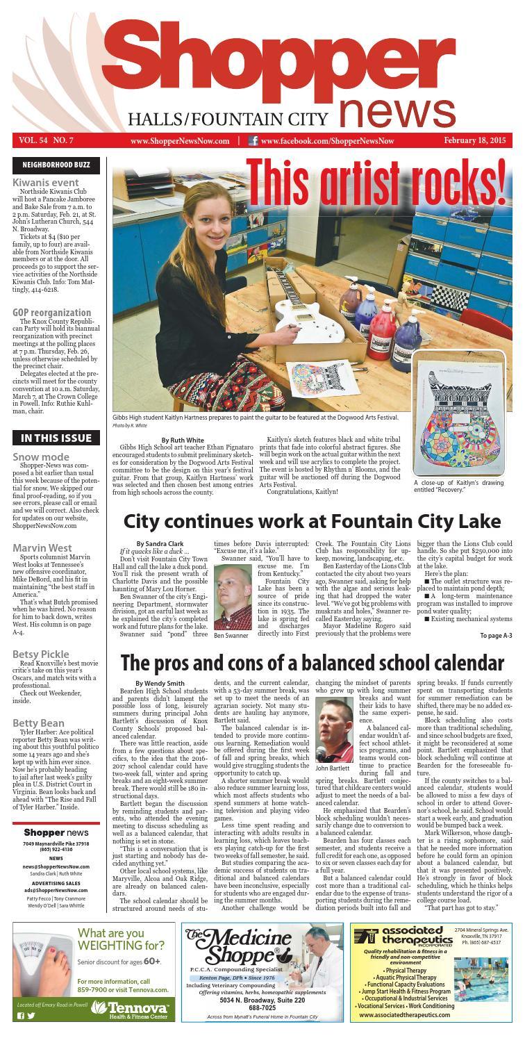 b1e2d277 Halls/Fountain City Shopper-News 021815 by Shopper-News - issuu
