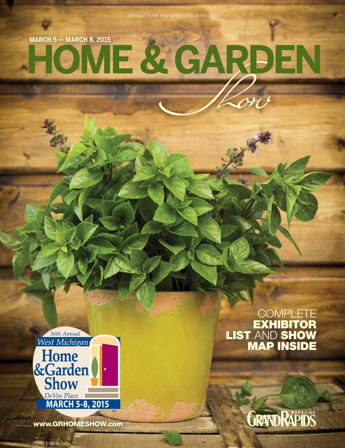 West Michigan Home Garden Show Program 2015 By