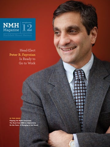 Nmh Magazine 2012 Spring By Northfield Mount Hermon Issuu