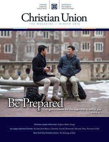 Winter 2015 Christian Union The Magazine by Christian Union