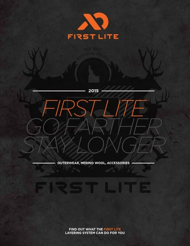 7071ba5546016 2015 First Lite Catalog by Sam Rodgers - issuu