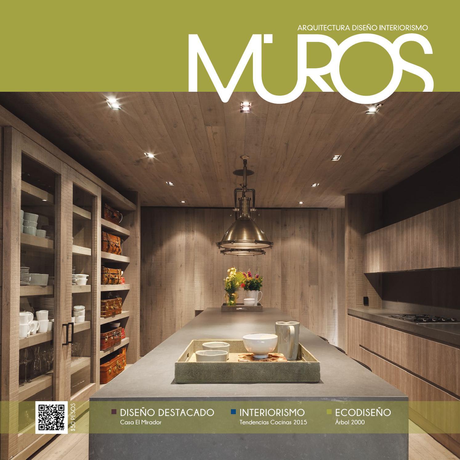 Edici n 15 revista muros arquitectura dise o for Revista habitat arquitectura diseno interiorismo