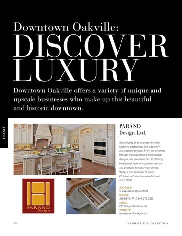 Page 58 of Downtown Oakville: Discover Luxury