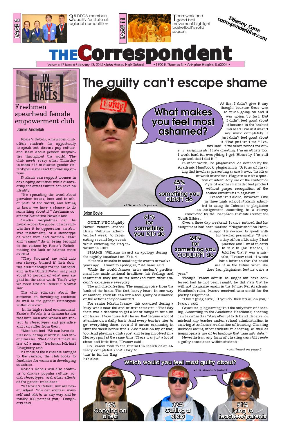 Issue 6, Volume 47 by The Correspondent - issuu