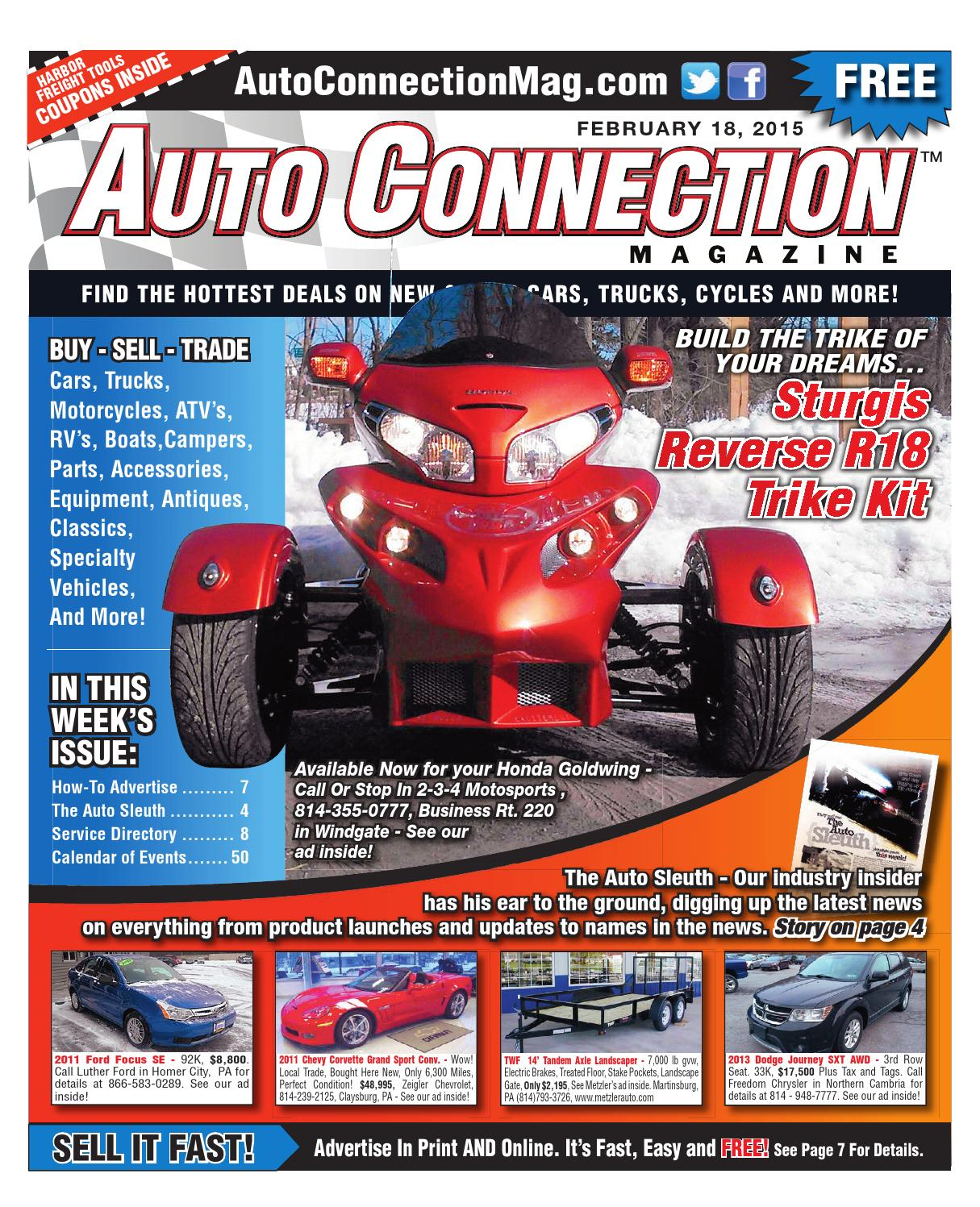 02 18 15 Auto Connection Magazine By Issuu 1942 Chevy Truck Vin Tag