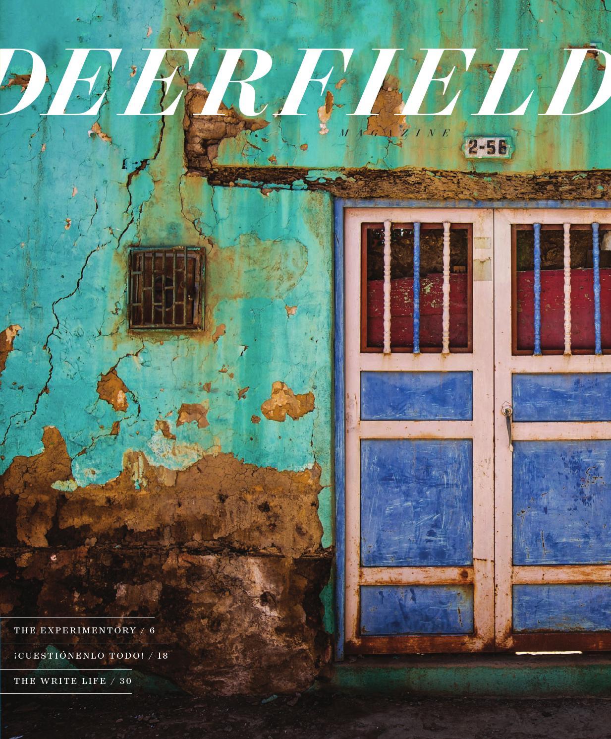 DEERFIELD Magazine Winter 2015 by Deerfield Academy - issuu