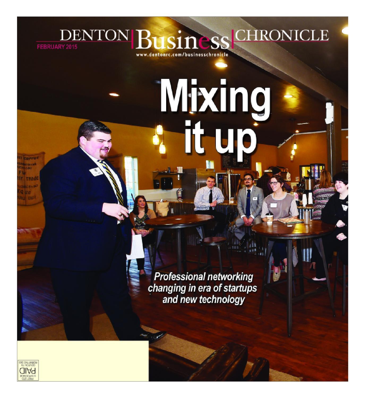 February Denton Business Chronicle 2015 by Larry McBride issuu
