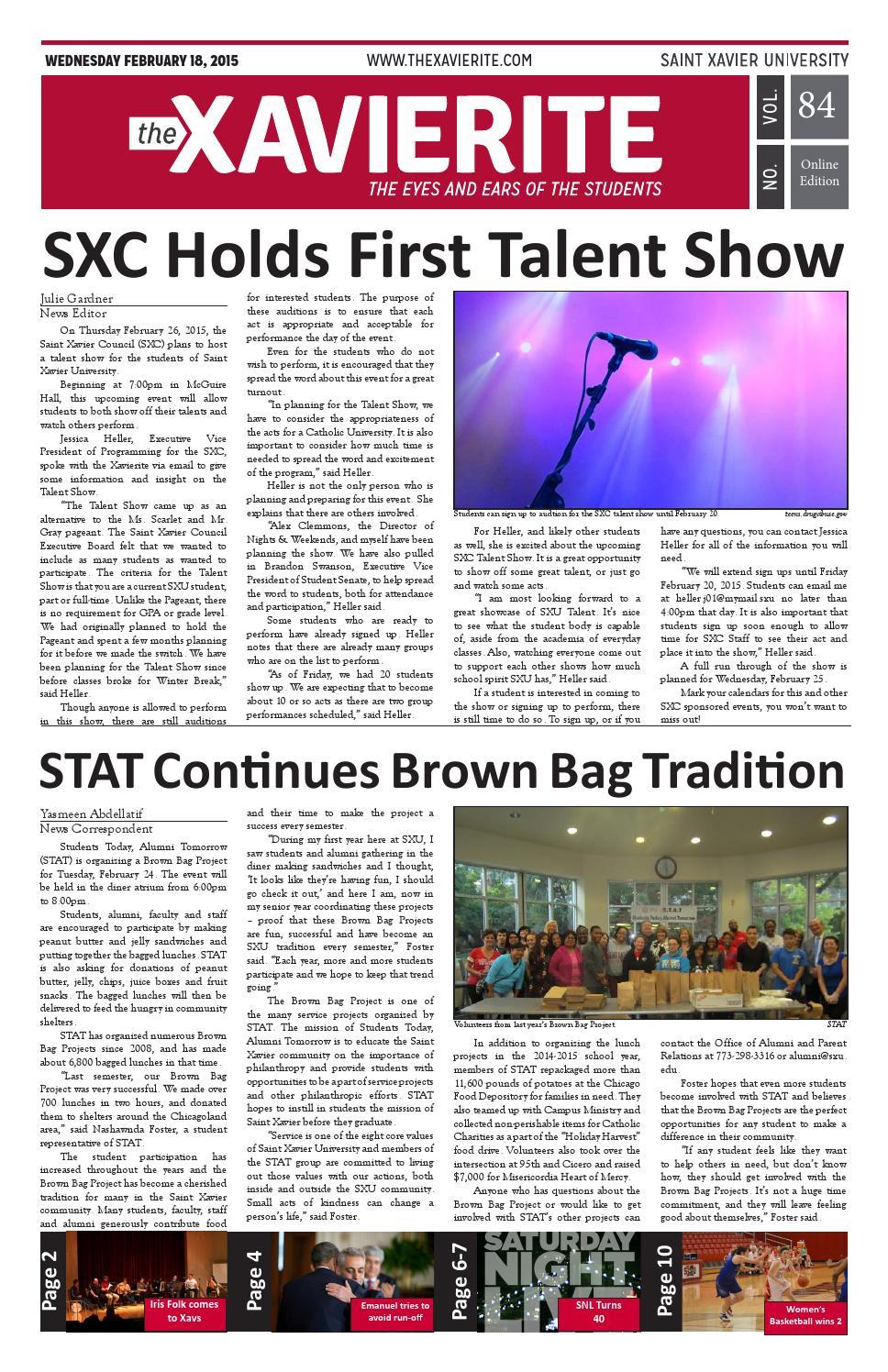 The Xavierite Issue 14 by The Xavierite - issuu