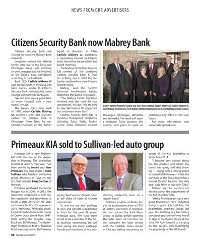 Citizens security bank okmulgee ok