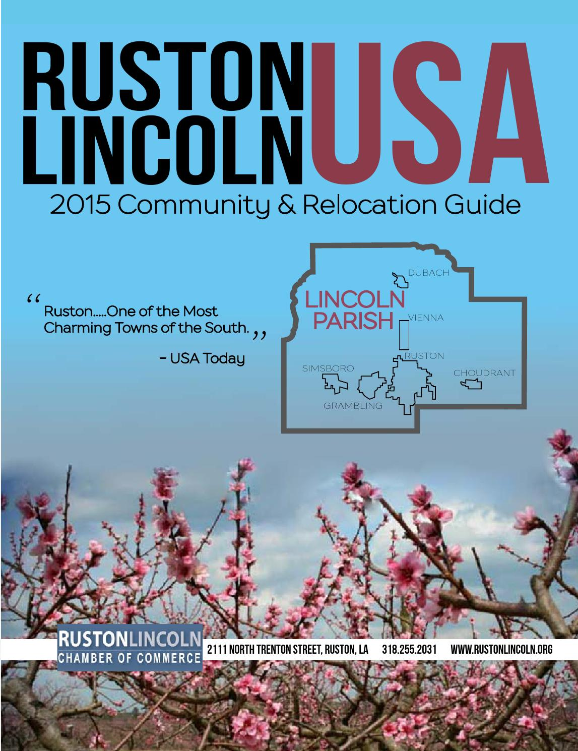 Ruston Lincoln USA 2015 By RustonChamber