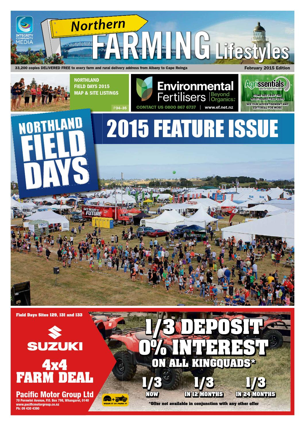 Northern Farming Lifestyles, February 2015 by Integrity Community Media -  issuu