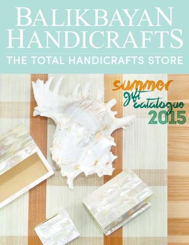 Balikbayan Handicrafts Summer Catalogue 2015 By Balikbayan