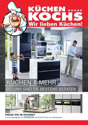 Küchen Kochs Aachen Prospekt Februrar 2015 B By Küchen Kochs Issuu