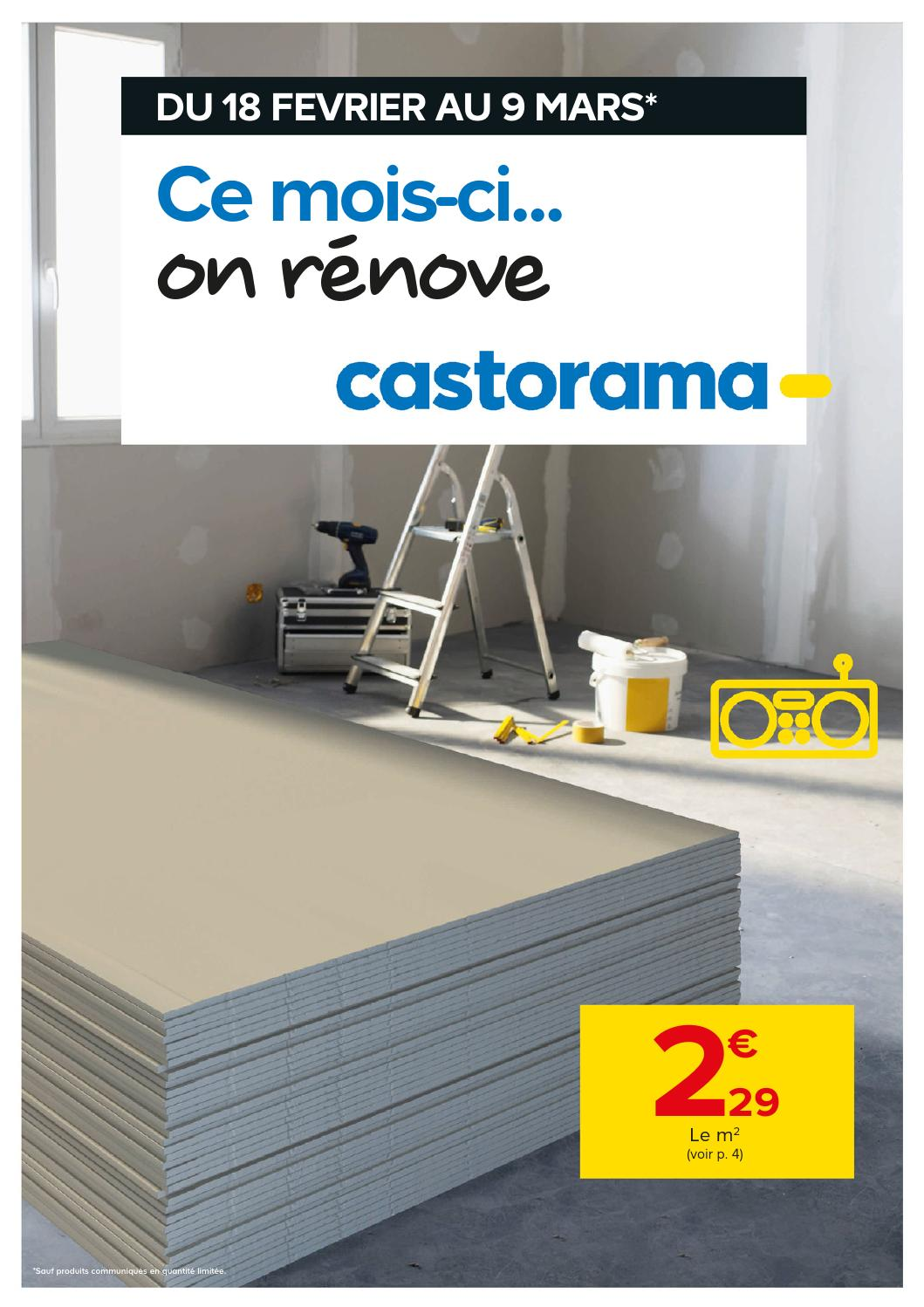 castorama catalogue 18fevrier 9mars2015 by issuu. Black Bedroom Furniture Sets. Home Design Ideas