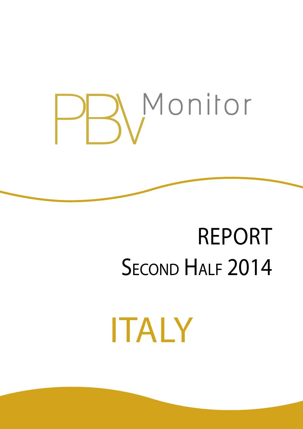 Report Italia Tax Legal Secondo Semestre 2014 By Massimo