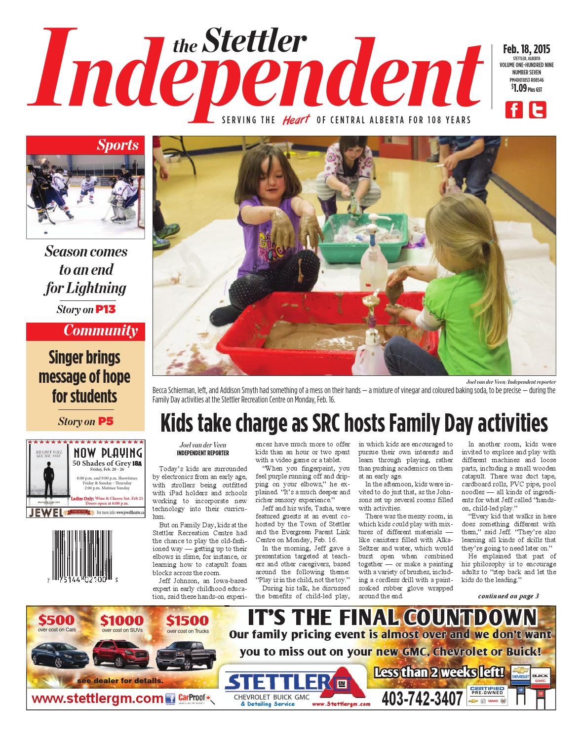 Stettler Independent, February 18, 2015 by Black Press - issuu
