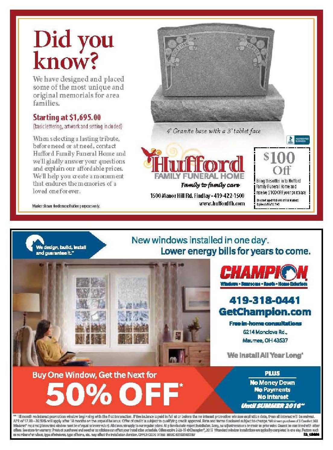 Findlay Town Money Saver February/March 2015 by Findlay Town