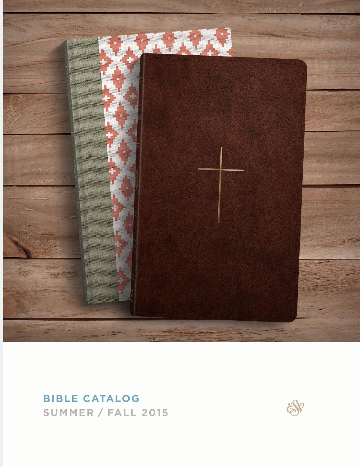 Esv summer fall 2015 bible catalog by crossway issuu for Garden design bible