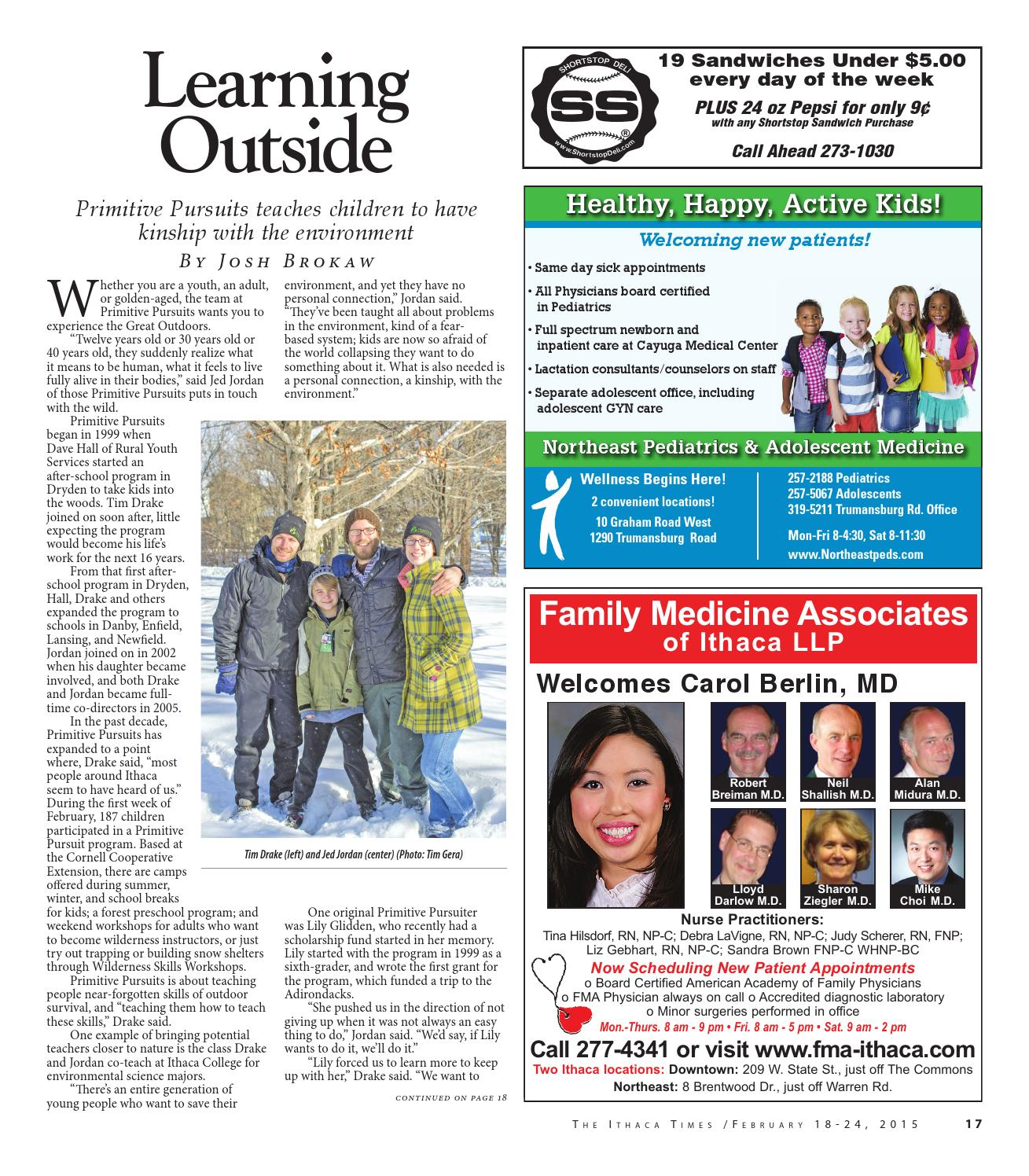 February 18, 2015 by Ithaca Times - issuu