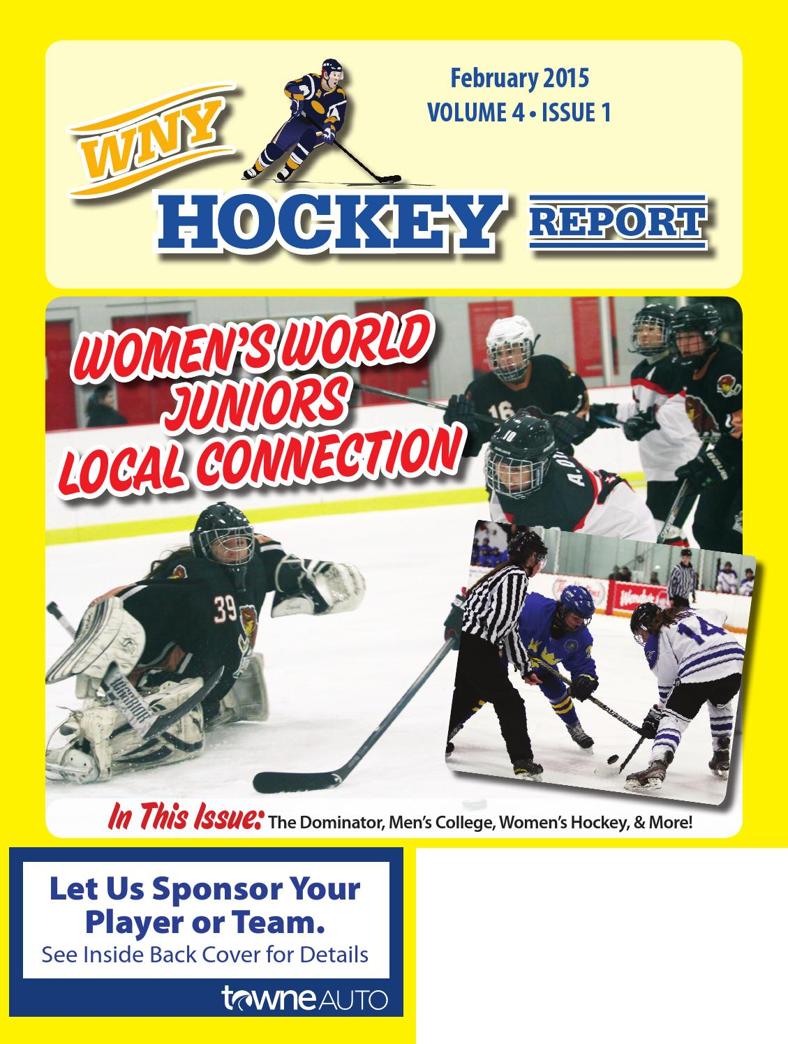 Wny hockey report february 2015 by wny hockey report issuu geenschuldenfo Image collections