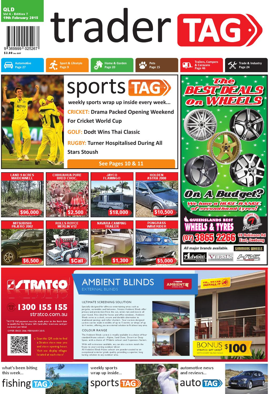 Tradertag Queensland Edition 7 2015 By Design Issuu 2hp Craftsman Garage Door Opener What Is Up With Nev