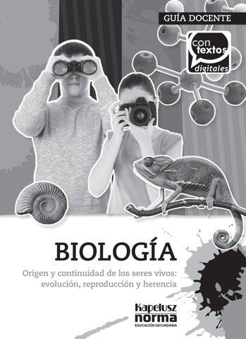 Biología 3er año - Conexos by SANTILLANA Venezuela - issuu