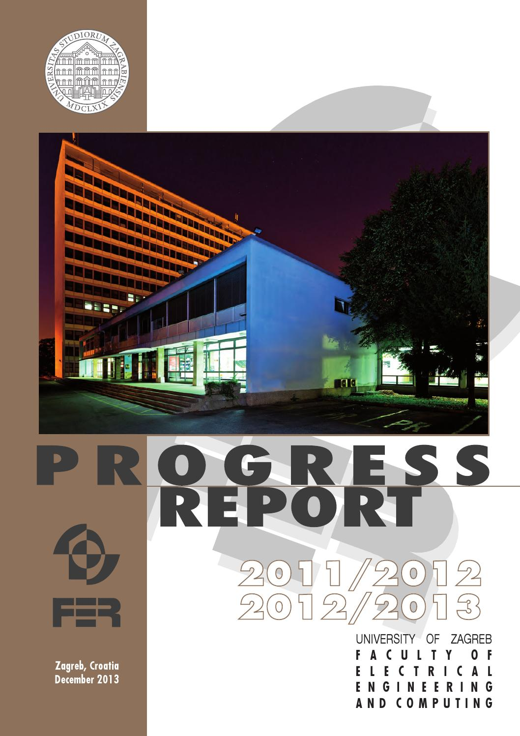 Progress Report 2011 2013 By Faculty Of Electrical Engineering And
