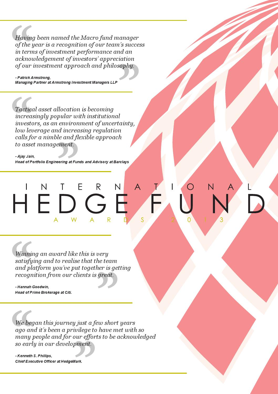Hedge fund awards 2013