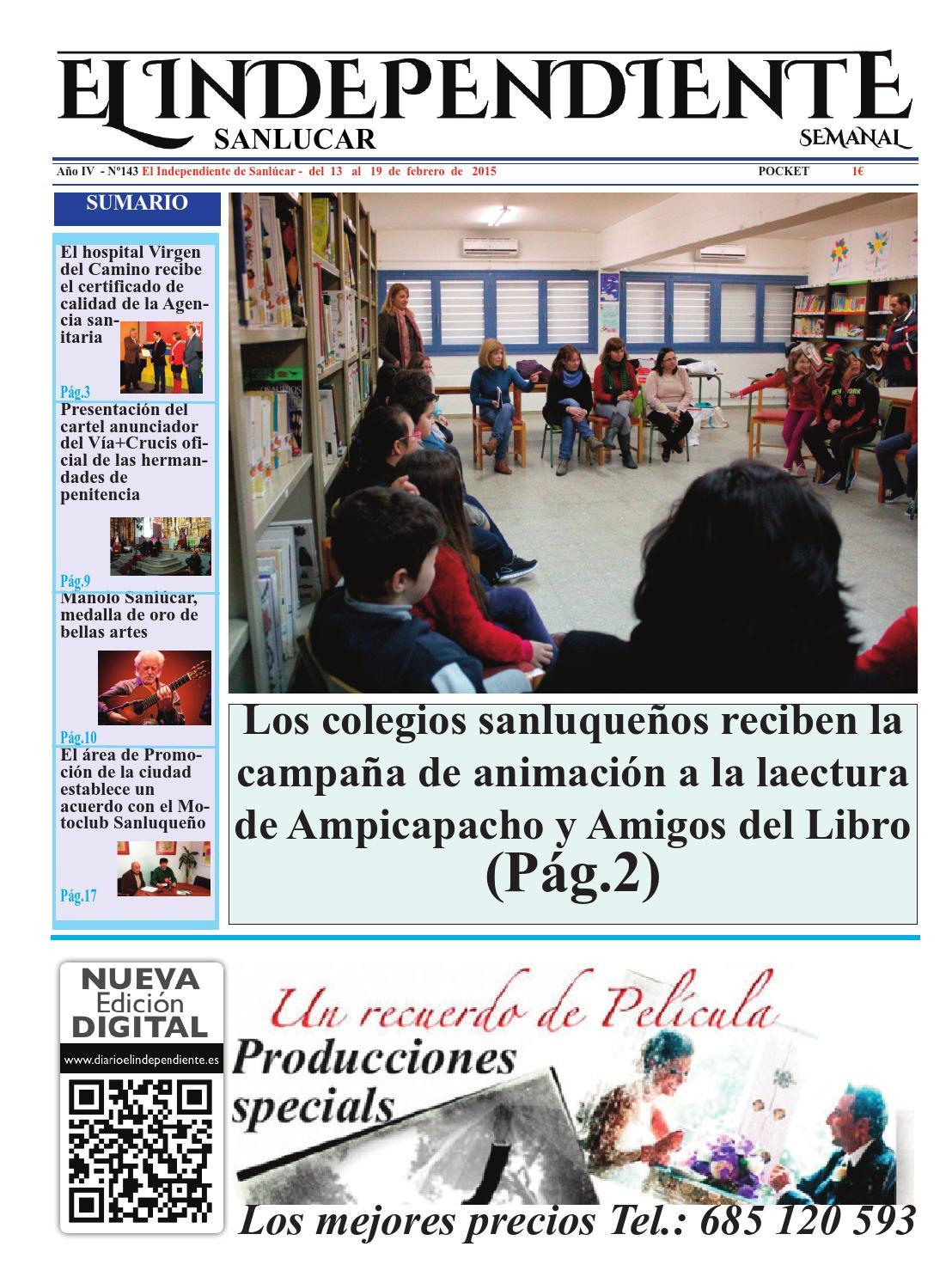 El independiente de sanlúcar nº 143 by El independiente de Sanlúcar ...