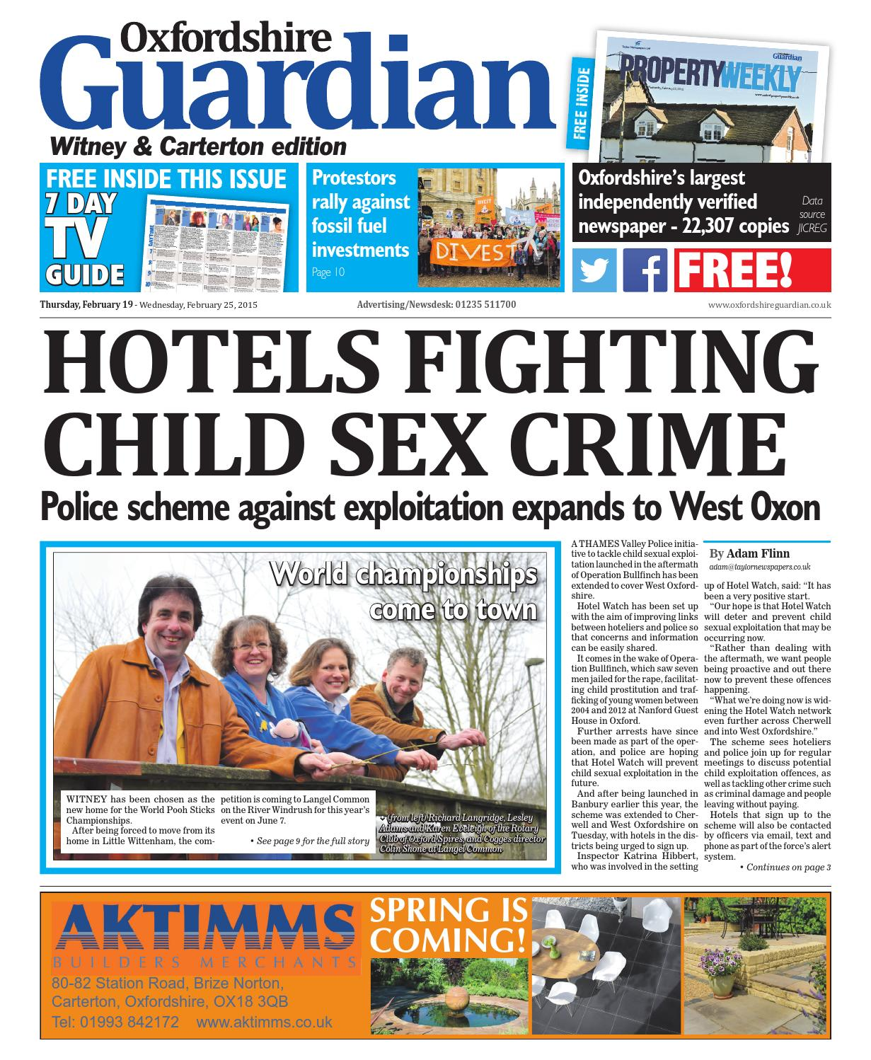 19 february 2015 oxfordshire guardian witney by Taylor Newspapers - issuu