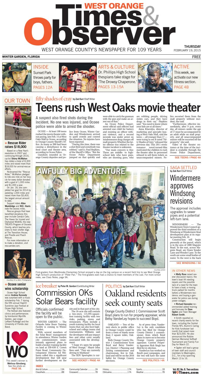 02 19 15 west orange times u0026 observer by orange observer issuu