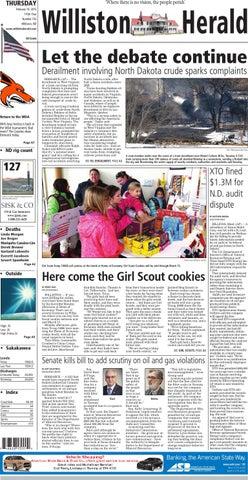 02/19/15 - Williston Herald by Wick Communications - issuu