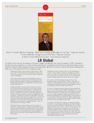page 10 hedge fund awards 2015 lr global