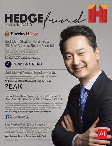 Hedge fund awards 2015 by AI Global Media - issuu