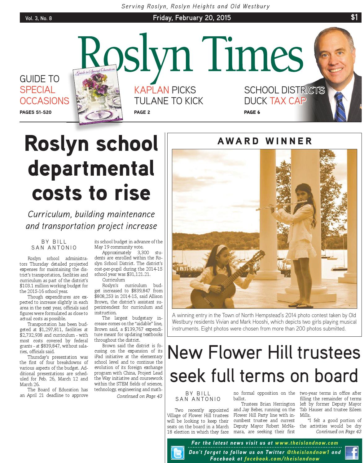 roslyn times 2.20.15 by the island now - issuu