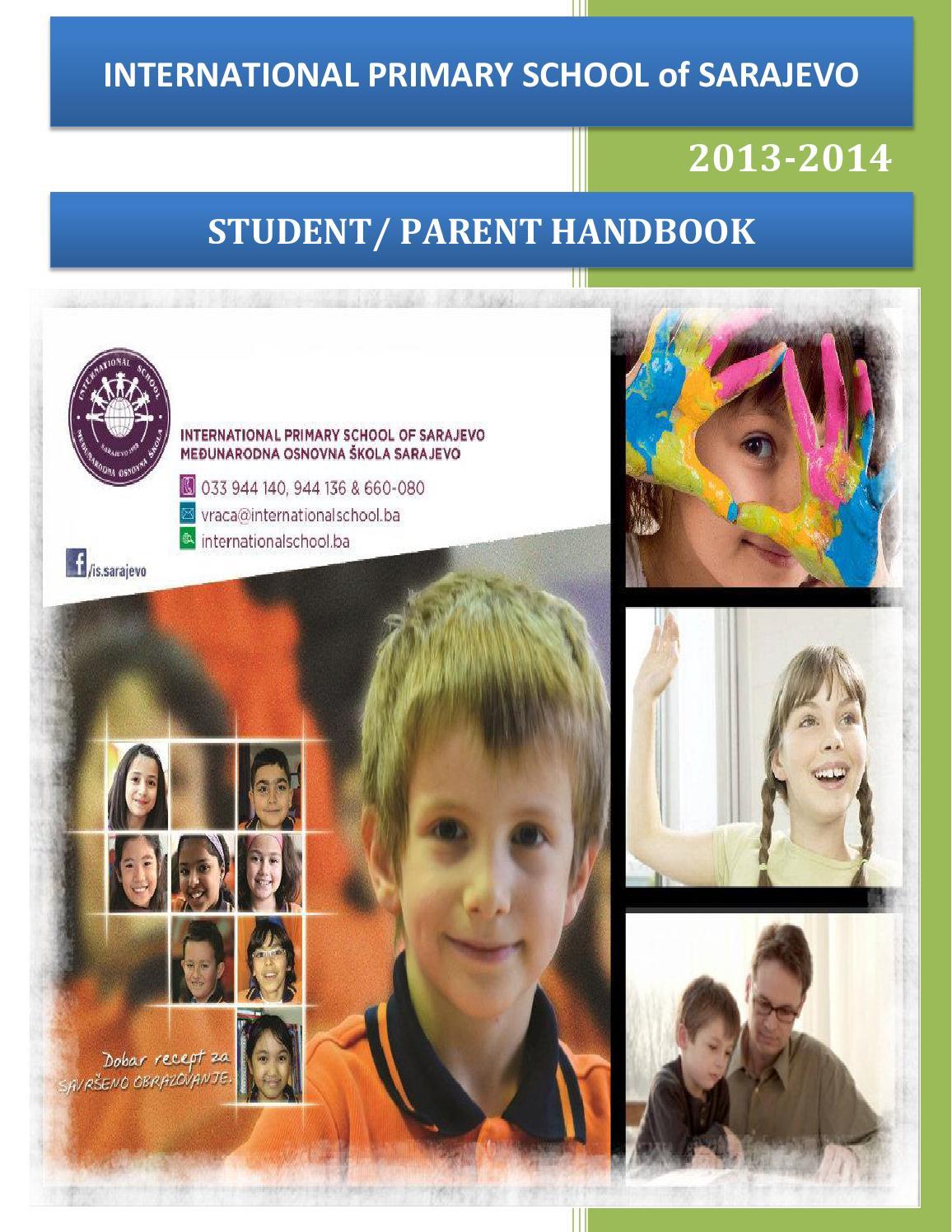 ipss parents handbook by bosna sema primary schools issuu