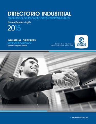 82f0fe253c401 Directorio Industrial Caintra 2015 by Thot Comunicación Corporativa ...