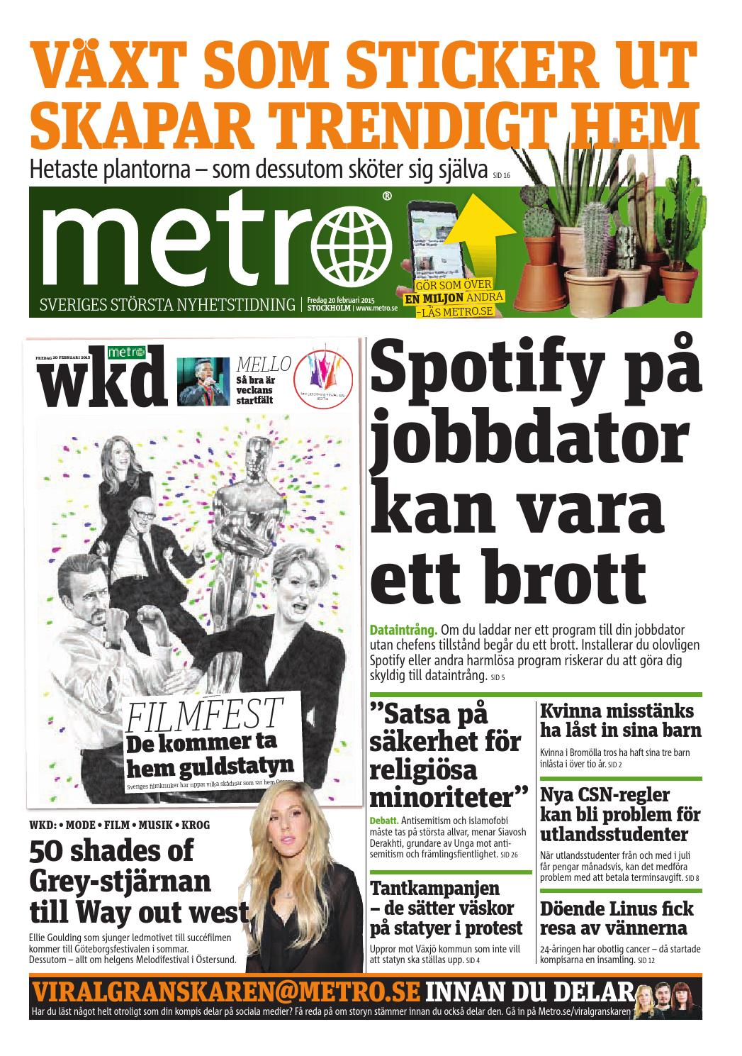 20150220 se stockholm by Metro Sweden - issuu e242623bb84a5